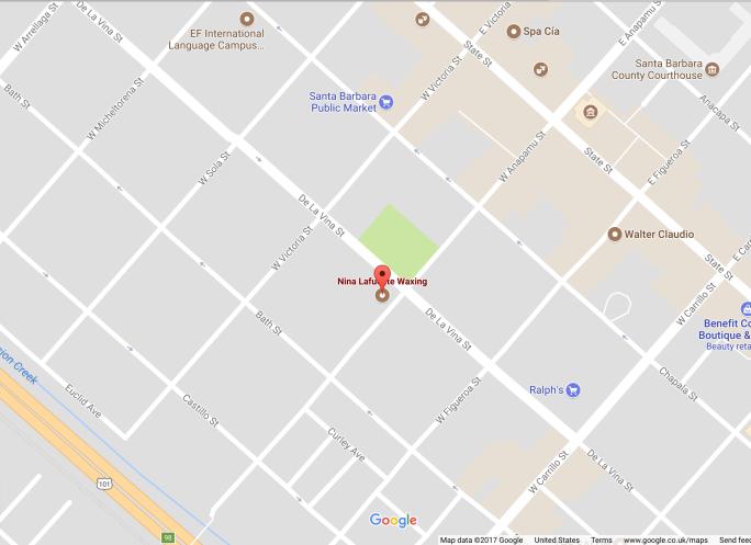 Nina Lafuente Waxing Google Maps